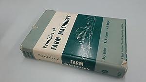 Principles Of Farm Machinery: Various