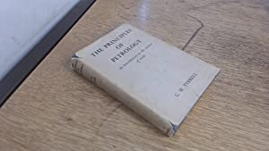 The Principles of Petrology - An Introduction: G. W. Tyrrell