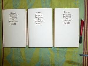 Deutsche Dichtung des Mittelalters in 3 Bänden: Curschmann, Michael und Ingeborg Glier