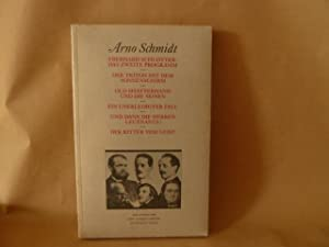 Das zweite Programm: Schmidt, Arno / eberhard Schlotter