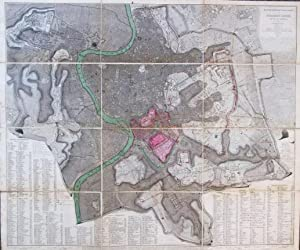 A Topographical Plan of Modern Rome. with the New Additions