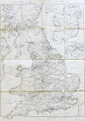 Bradshaw's Railway Map of Great Britain and Ireland