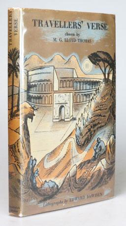 Travellers' Verse. Chosen by. with Original Lithographs by Edward Bawden