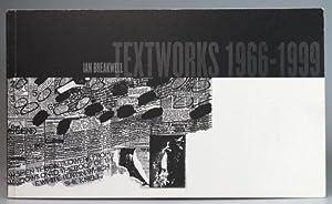Ian Breakwell. Textworks 1966-1999: BREAKWELL). RHODES, Colin