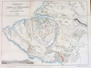 Johnstons' Atlas of the War 1855. [Comprising]: Johnston's New Map of the Seat of War in the Danu...