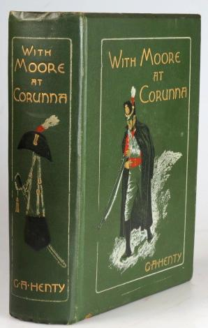 With Moore at Corunna. Illustrations by Wal Paget