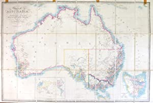 Map of Australia, Compiled from the Nautical Surveys, Made by Order of the Admiralty, and other A...
