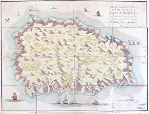 Geographical Plan of the Island and Forts of Saint Helena.