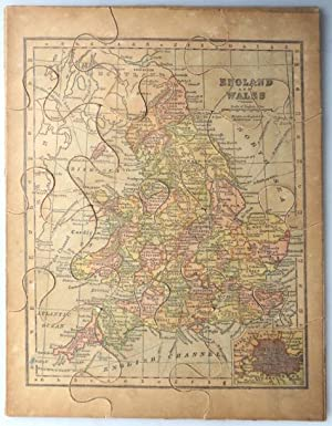 [Jigsaw Map of] England and Wales
