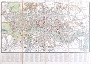 Tegg's New Plan of London, &c. with 360 References to the Principal Streets, &c.
