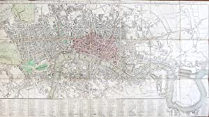 Smith's New Plan of London, Westminster & Southwark; Comprehending All the New Buildings, and 350...