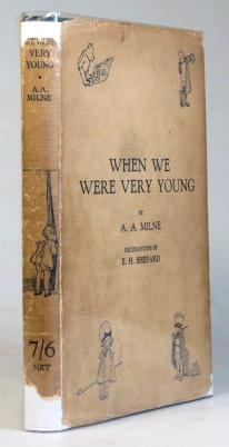When We Were Very Young. With Decorations by Ernest Shepard