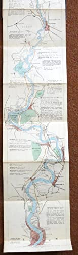 The Oarsman's and Angler's Map of the: RAVENSTEIN, E.G.]