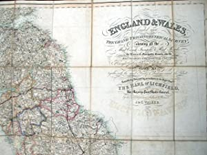 England and Wales founded upon The Grand Trigonometrical Survey; shewing all the Mail Coach, Turn...