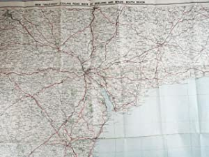 Bacon's Motoring and Cycling Road Map / South Devon