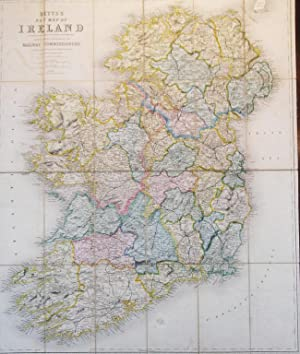 Betts' New Map of Ireland Accurately Reduced from the Beautiful Six Sheet Map Engraved Under the ...