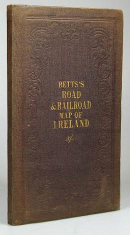 Map Of Ireland Book.Betts New Map Of Ireland Accurately Reduced