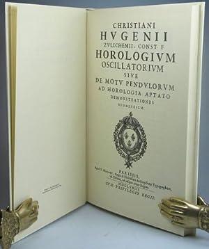 Horologium Oscillatorum: HUYGENS, Christian