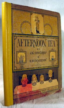Afternoon Tea. Rhymes for Children with original: SOWERBY, J.G. &