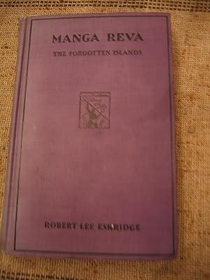 Manga Reva: The Forgotten Islands: Esrridge Robert Lee