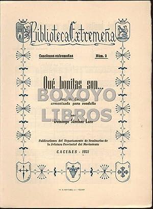 Qué bonitas son las cacereñas. Jota de Cáceres, armonizada para rondalla, por....
