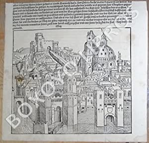 Fragmento de hoja suelta del Liber Chronicarum