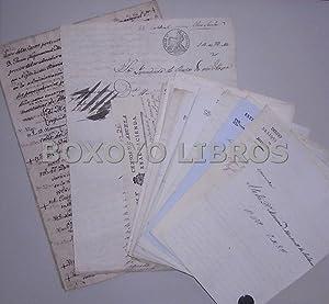 Documentos de Juan Nepomuceno Muñoz de Salazar Maldonado, de Granada relativos a censos y ...