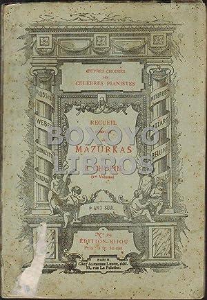 Recueil complet des Mazurkas. 1er volume: CHOPIN, F.