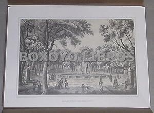 Monumentos de Mejico. Tomados del natural y litografiados por Pedro Gualdi en el año de 1841...