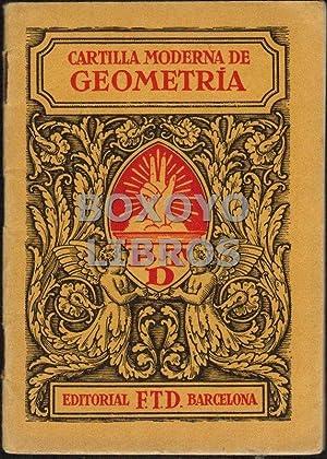 Cartilla moderna de Geometría