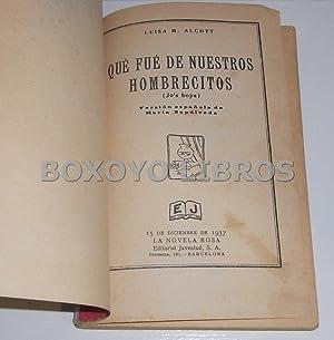 Que fué de nuestros hombrecitos. Versión española de María Sepú...
