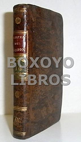 Compendio de la Historia Natural de Buffon,: BUFFON [Georges-Louis Leclerc,