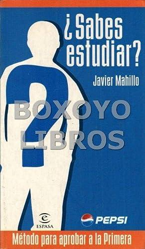 Sabes estudiar?: MAHILLO, Javier