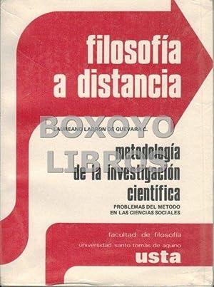 Filosofía a distancia. Metodología de la investigación: LADRÓN DE GUEVARA