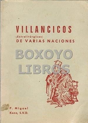 Villancicos (extralitúrgicos) de varias naciones: KONZ, Miguel [Recopilador}