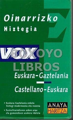 Oinarrizko hiztegia. Euskara-Gaztelania. Castellano-Euskara
