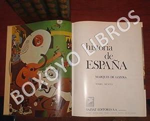 Historia de España: MARQUES DE LOZOYA