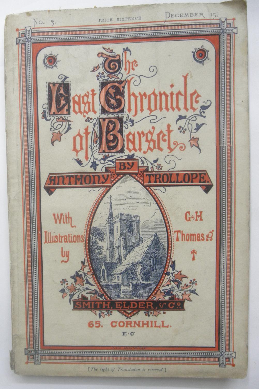 THE LAST CHRONICLE OF BARSET TROLLOPE, ANTHONY