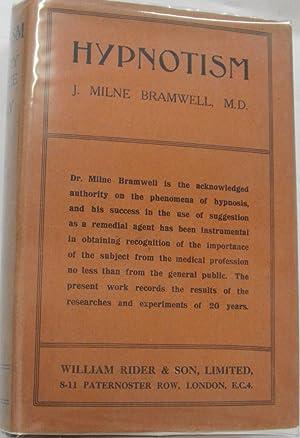 Hypnotism, Its Theory, History and Practice,: BRAMWELL, J MILNE