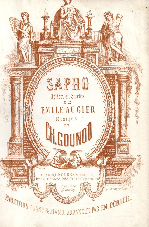 SAPHO_GOUNOD_Charles_Très_bon_Couverture_rigide