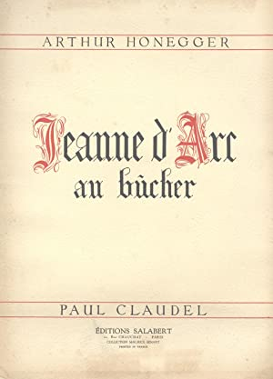 JEANNE AU BUCHER. [LARGE FULL SCORE.]