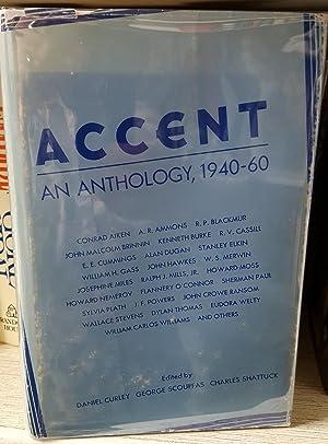 Accent An Anthology, 1940-60: Conrad Aiken, A.