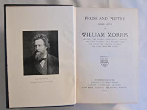 Prose and Poetry by William Morris: Morris,William