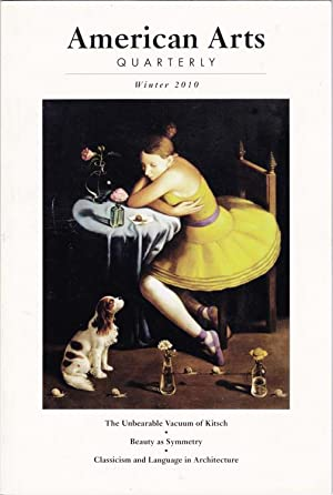 American Arts Quarterly, Winter 2010, Volume 27, Number 1
