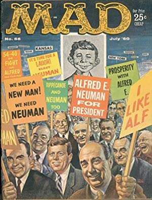 MAD magazine Volume 1, Number 56, July 1960: Feldstein, Albert B. (editor)