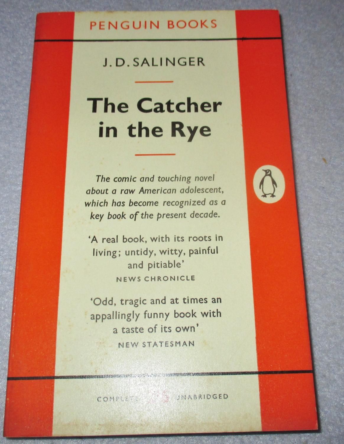 an analysis of the plot and setting of jd salingers the catcher in the rye Catcher in the rye settings are meaningful to the story learners will enjoy the design of this graphic organizer as they describe the location physically and emotionally novel: the catcher in the rye by j.
