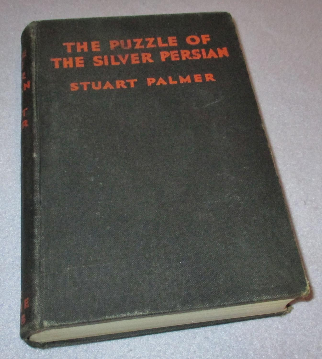 The Puzzle of the Silver Persian Stuart Palmer Good Hardcover