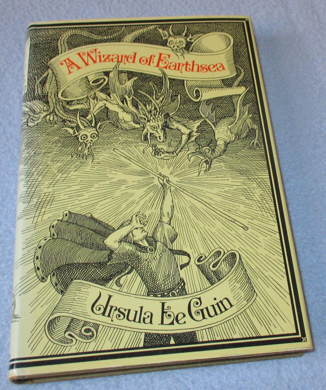 A Wizard of Earthsea (1st edition): Ursula K. Le Guin