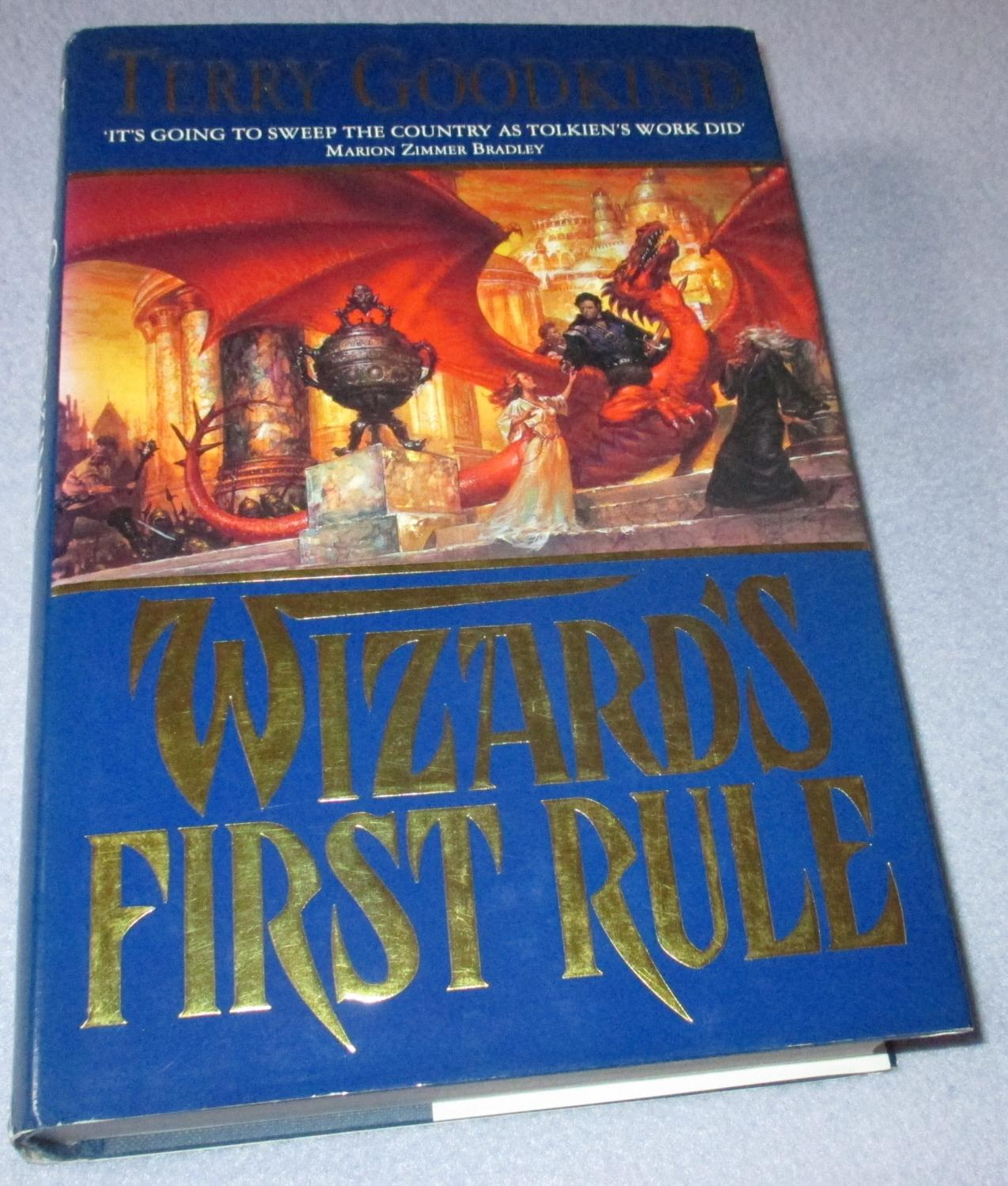 Wizards First Rule (1st Edition) by Terry Goodkind: Fine Hardcover ...