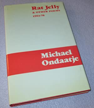 Rat Jelly & Other Poems (Signed by: Michael Ondaatje